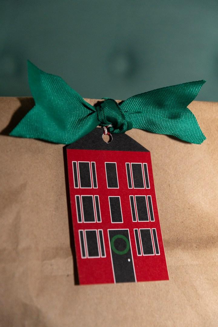 Free Printable House Tags for Christmas