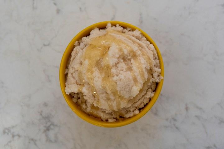Honey Drizzled Snow Cream