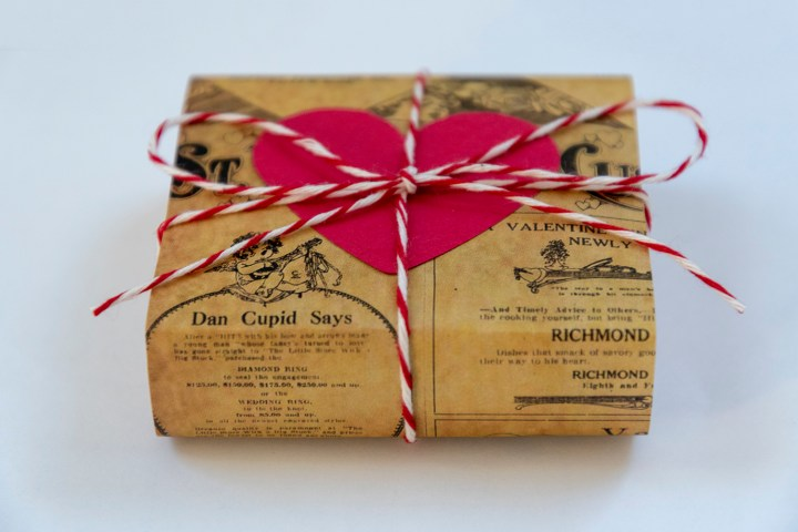DIY Valentine's Day Soap Packaging, Free Printable