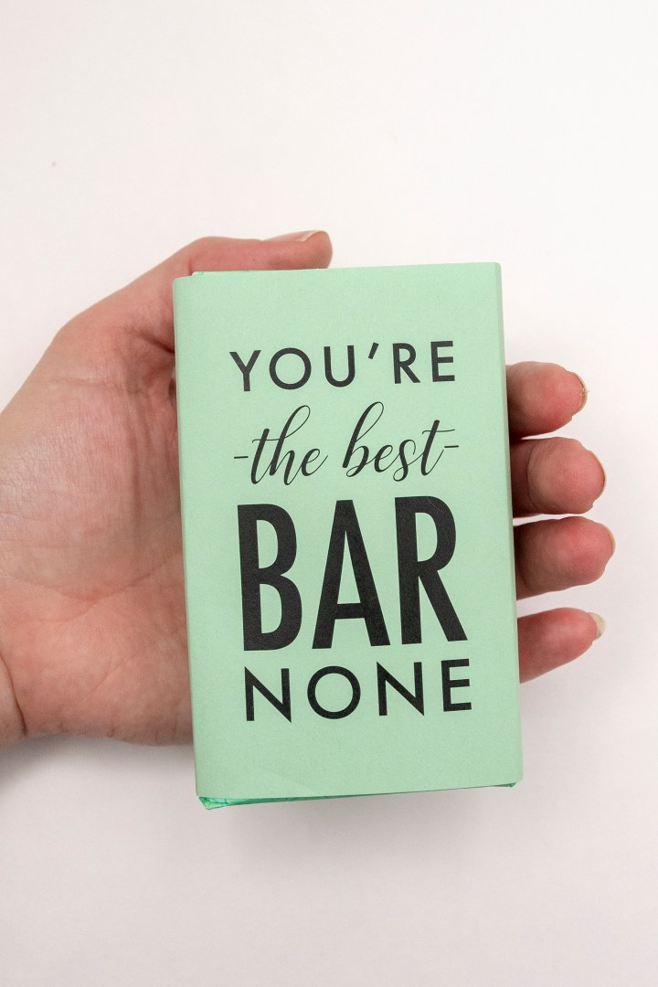 You're the Best Bar None Soap Wrapper Printable
