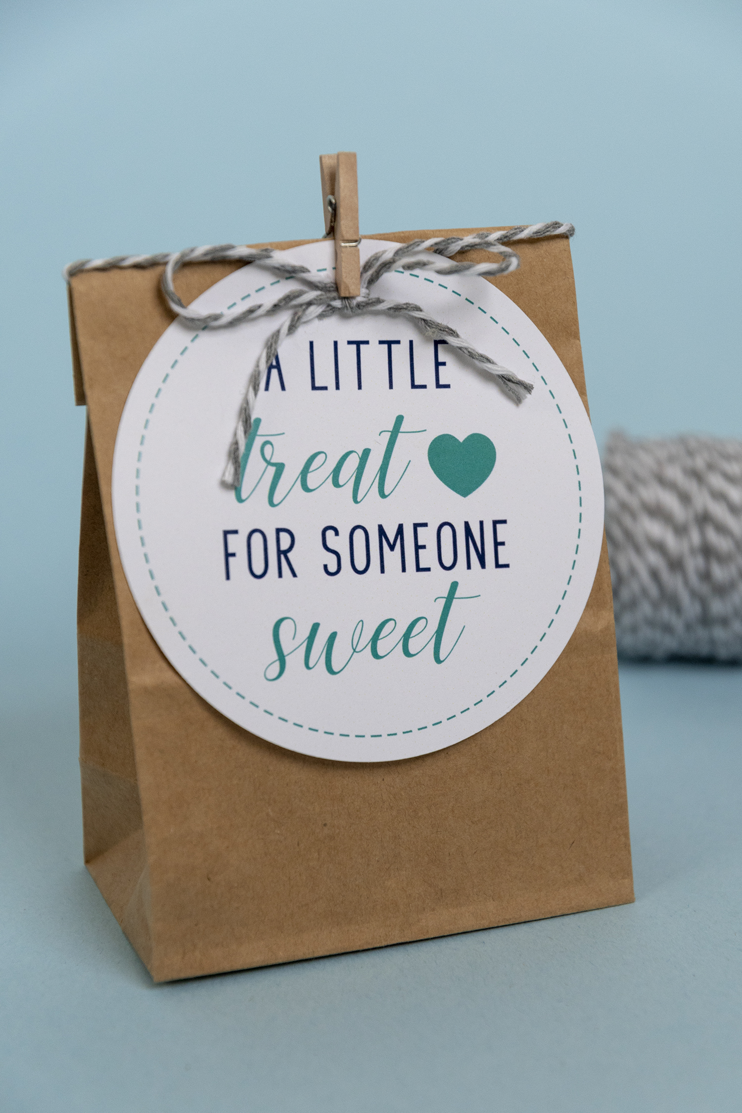 New Blue A Little Treat For Someone Sweet Free Printable Gift Tags Faking It Fabulous
