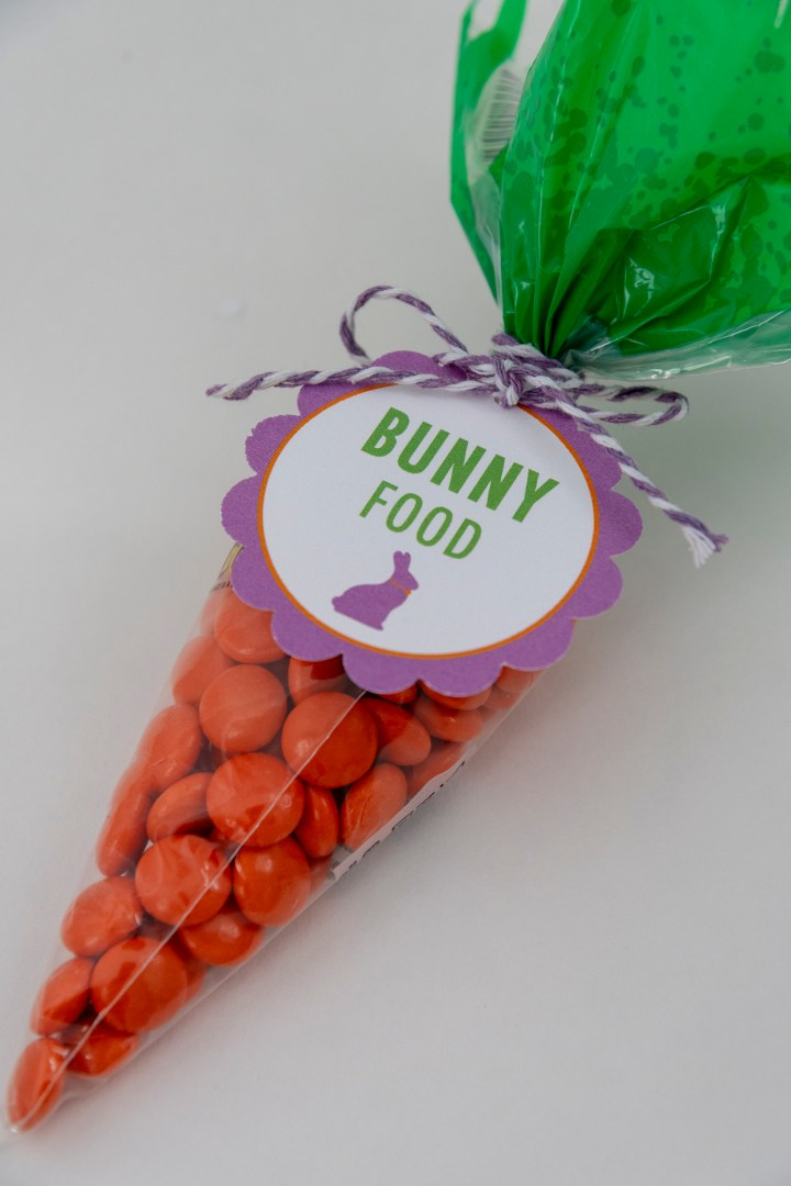 A 'Carrot' for the Easter Bunny—Free Printable Favor Tags