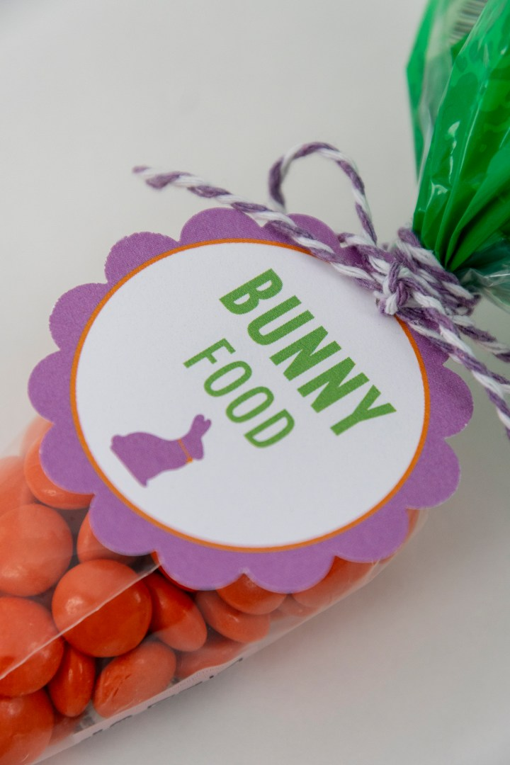 Free Printable Gift Tags for Easter Brunch Favors