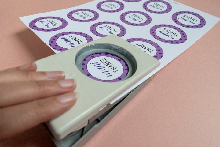 The best circle paper punch