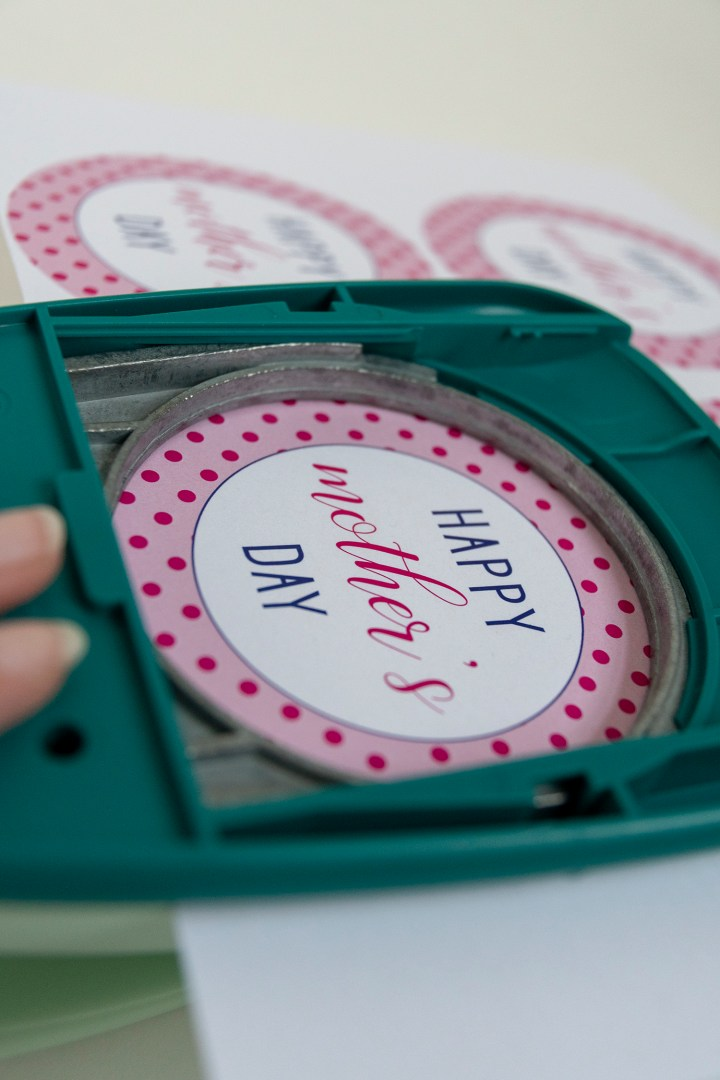 Making Gift Tags with a Circle Punch
