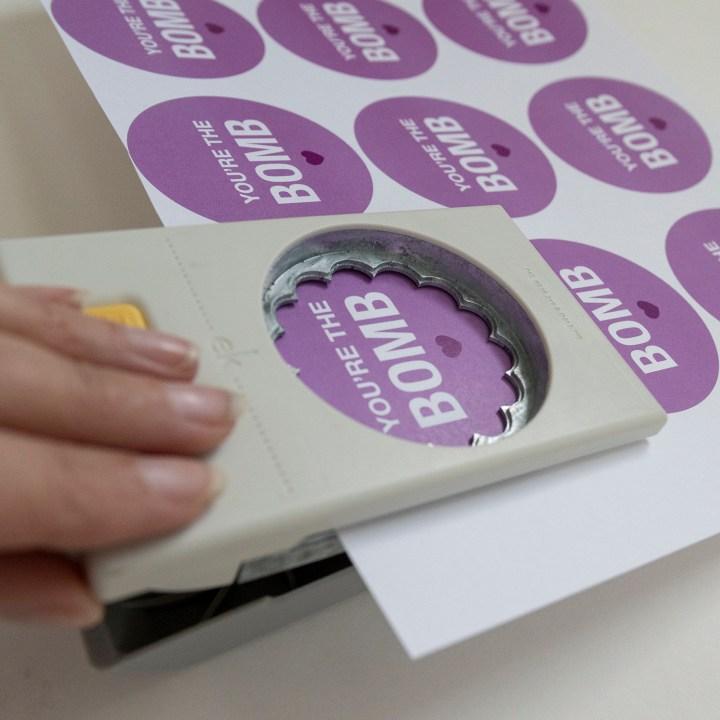 Bath Bomb Printable Tags