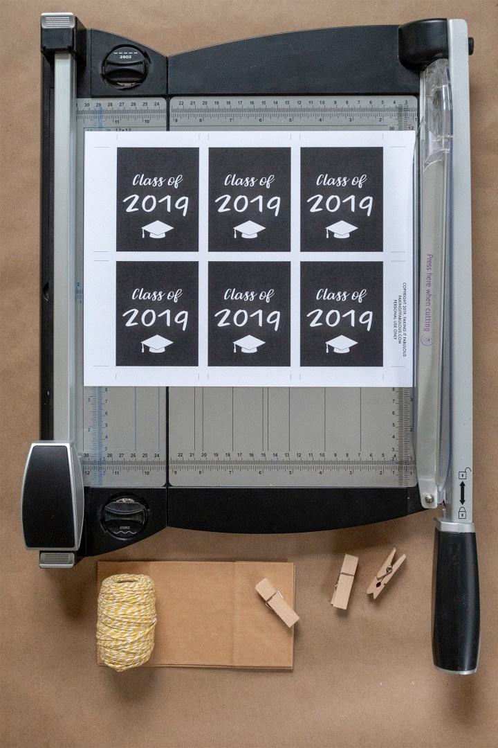 Free Printable High School Graduation Tags