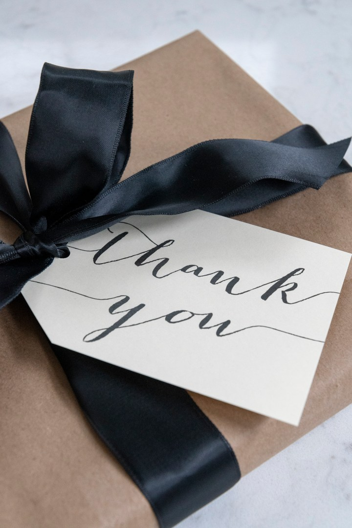 Free Printable Thank You Gift Tags