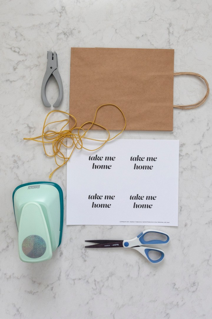 Free Take Me Home Printable Tags