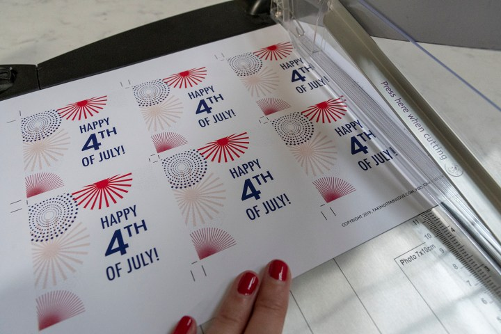Free Printable 4th of July Tags