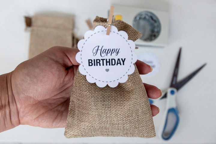 Free Printable Happy Birthday Gift Tags Faking It Fabulous