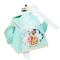 Teapot Wedding Favor Box