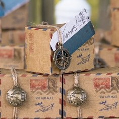 Airmail Favor Boxes