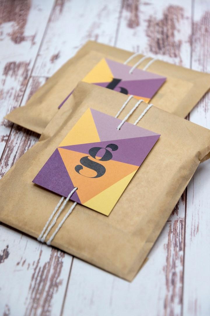 Free printable Monogram gift tags