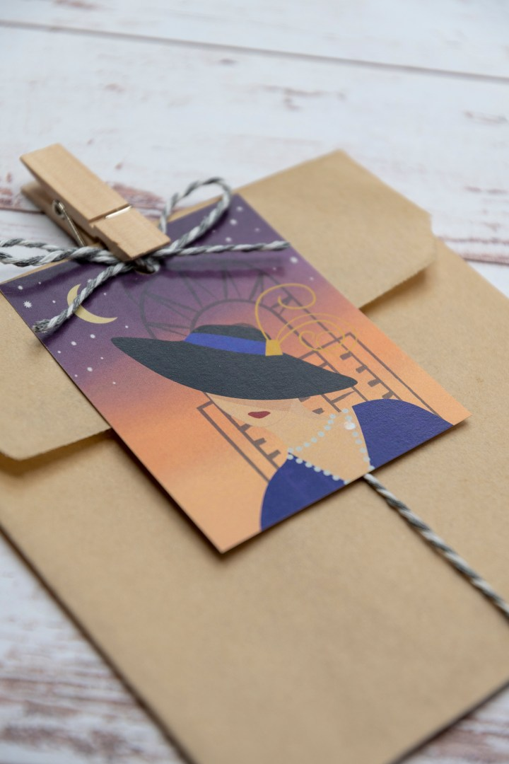 Vintage Fashion Gift Tags