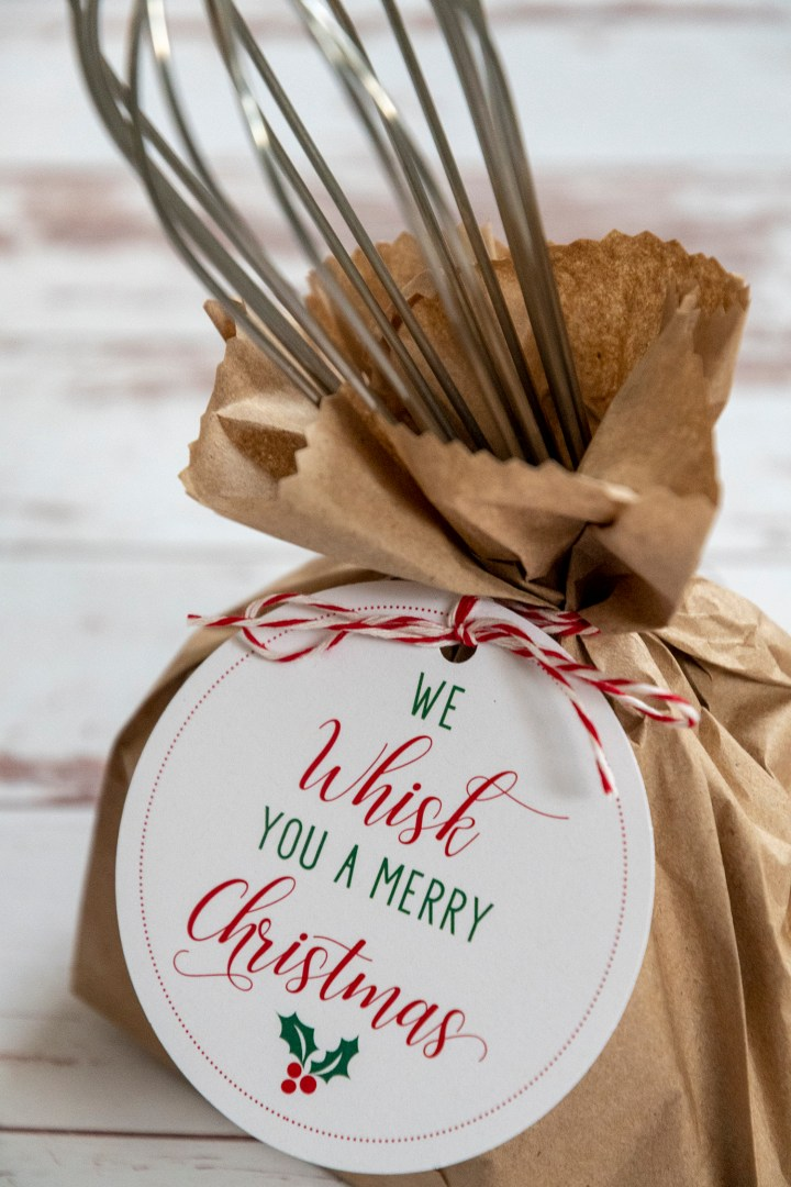 We Whisk You a Merry Christmas Gift Tags