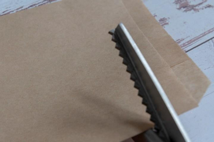 DIY Kraft Paper Bags