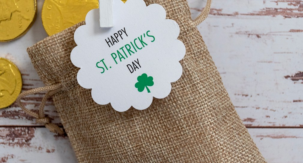Make a Leprechaun's Bag of Chocolate Gold for St. Patrick's Day