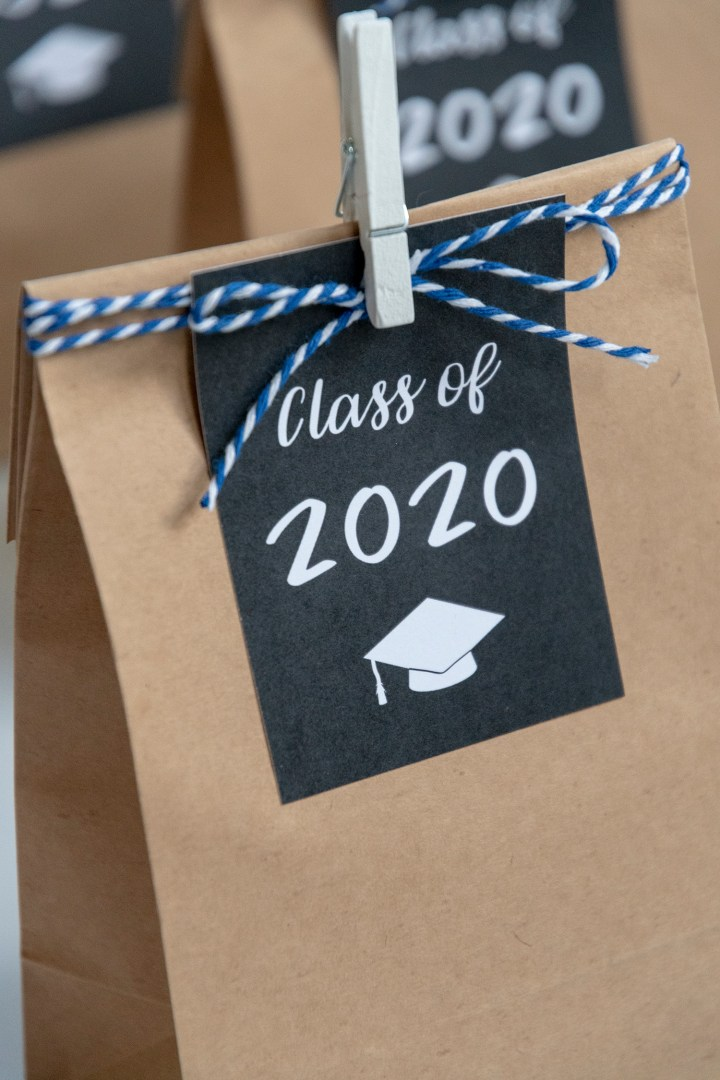 Free Printable 2020 Graduation Gift Tags