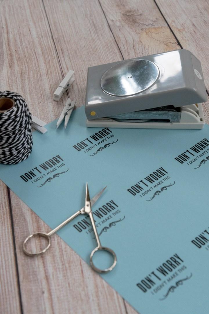 Free Printable Handmade Gift Tags