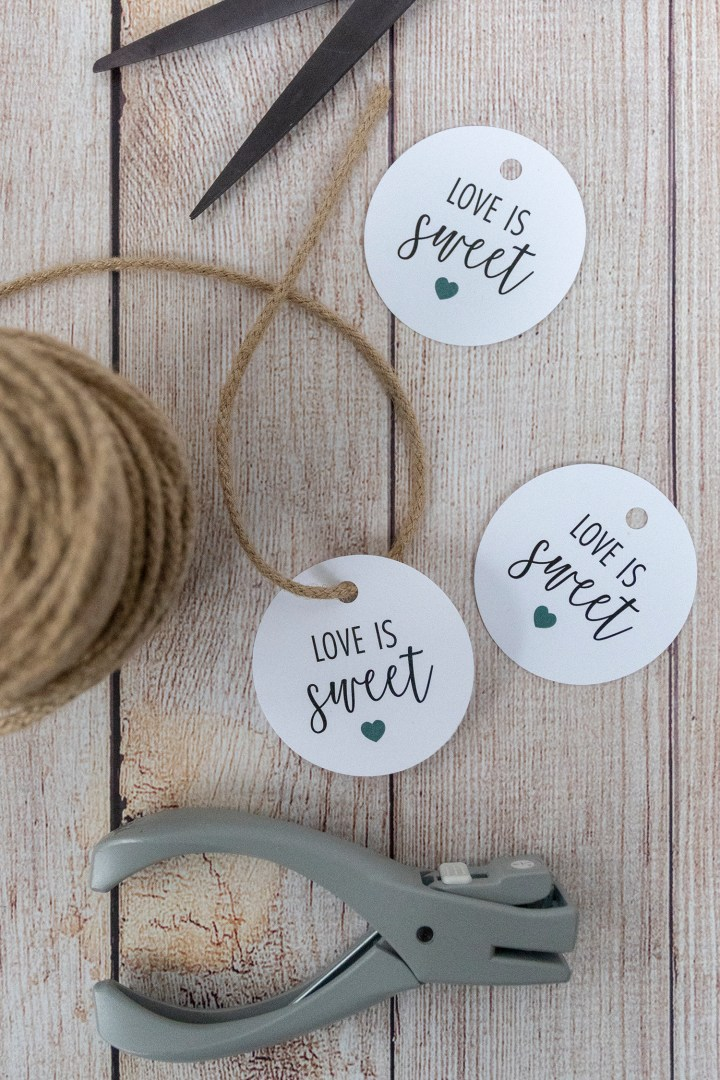 Love is Sweet Free Printable Gift Tags