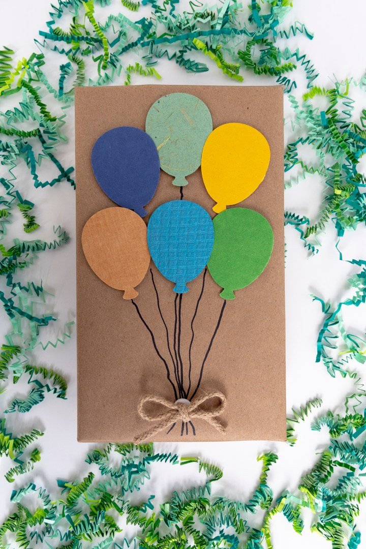 Creative and Easy Birthday Gift Wrapping Idea