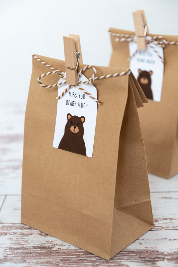 Marketing gift tags