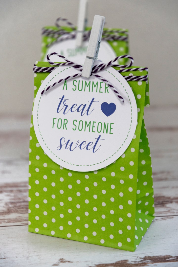 A Summer Treat For Someone Sweet Free Printable Gift Tags