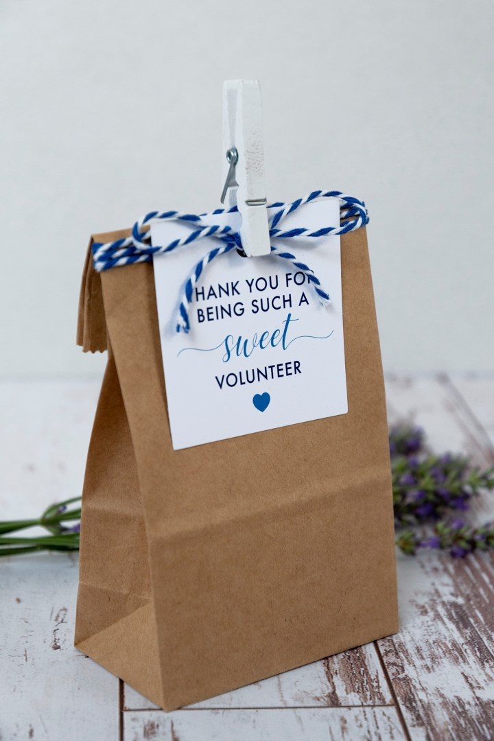 Free Printable Volunteer Appreciation Gift Tags