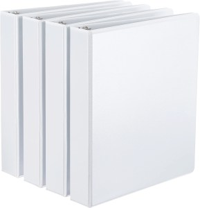 Basic white binder