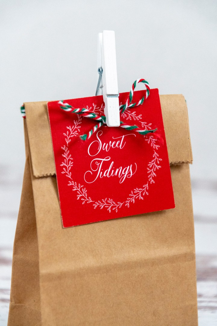 Free Printable Sweet Tidings Gift Tags