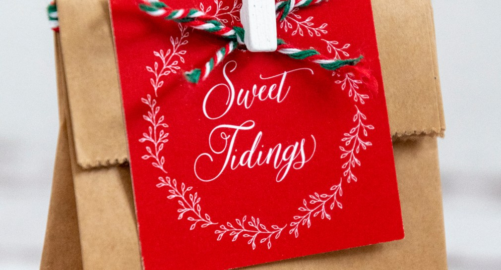 Sweet Tidings Free Printable Gift Tags for Christmas