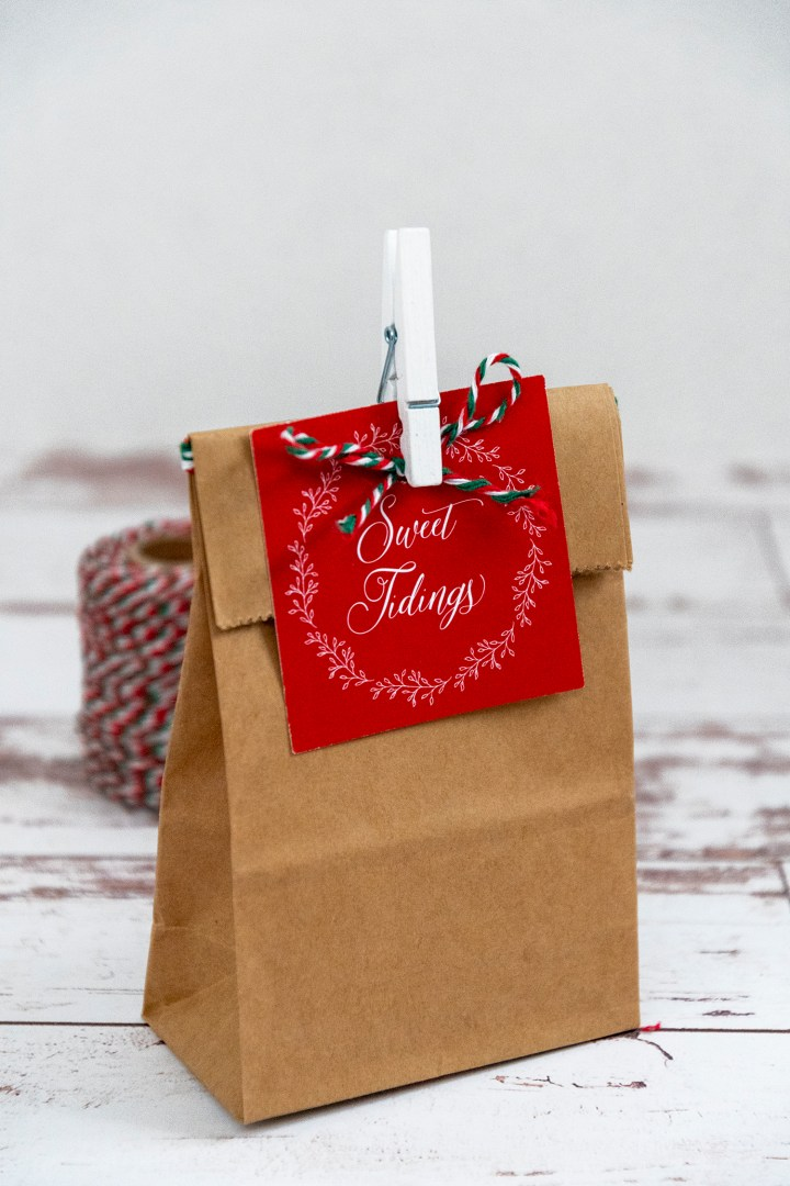 Sweet Tidings Free Printable Gift Tags for HolidayChocolate