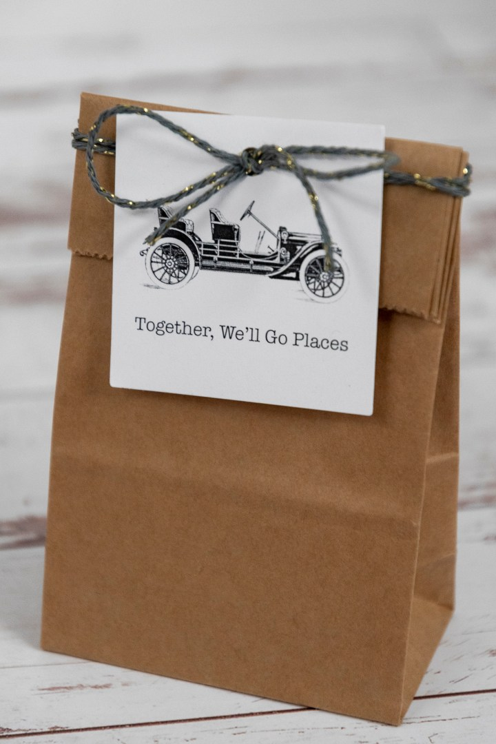 Vintage Car Free Printable Gift Tags