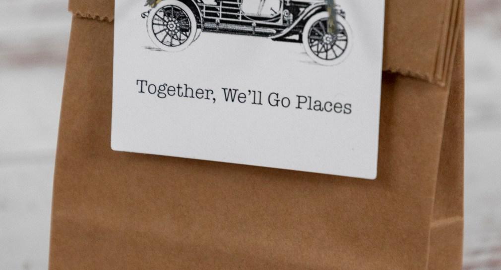 Vintage Car Free Printable Gift Tags