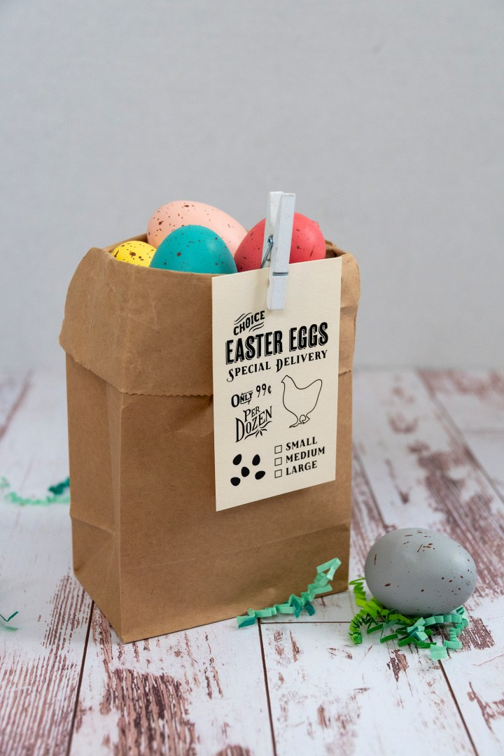 Easter Egg Delivery Free Printable Gift Tags