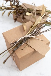 Creative Autumn Gift Wrapping