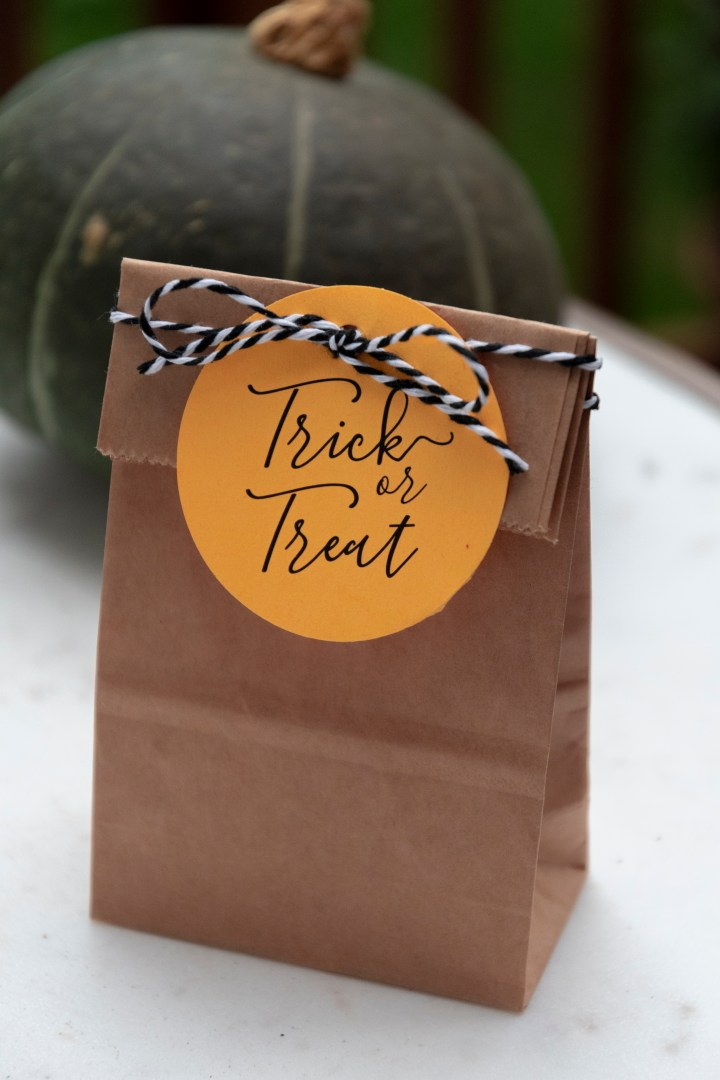 Trick or Treat Printable Gift Tags
