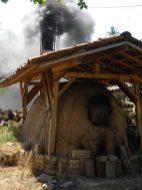 пещ Анагама anagama kiln,Аnagama kiln, ателие, керамика, грънчарство,ceramics, pottery