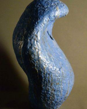 Керамична пластика, скулптура, произведение на изкуството,служи за декорация и естетическо аранжиране на различни пространства.