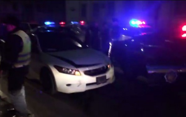 Восемь машин ГАИ ловили авто футболиста Динамо по ночному Киеву
