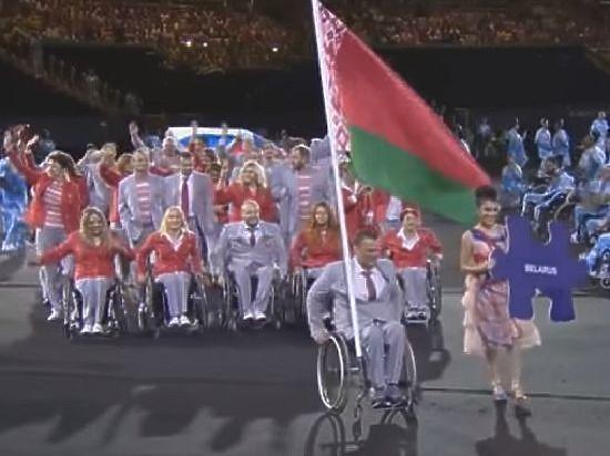 Белорусам заранее запретили использовать российский флаг на Паралимпиаде