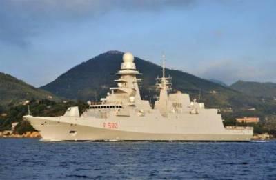 Обзор инопрессы. Французский фрегат в окружении русских кораблей