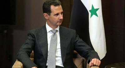 Асад выразил соболезнования Ирану в связи с терактом