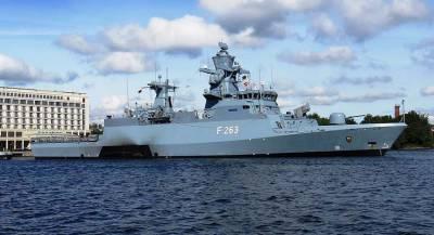 Фрегат-невидимка НАТО вошёл в Средиземное море
