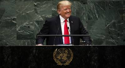 Трамп вызвал смех на Генассамблее ООН