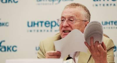 СБУ вызвала на допрос Жириновского