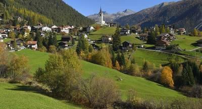 Дарить деньги будут жителям деревни в Швейцарии
