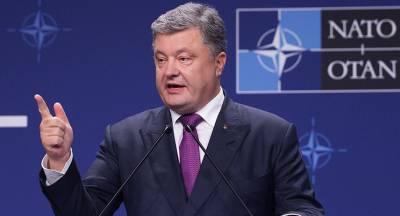Порошенко рассказал о борьбе с РФ за свободу и демократию