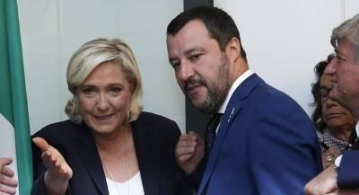 Ле Пен нашла союзников для демонтажа ЕС